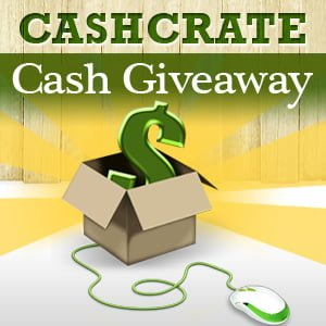 CashCrate $100 Paypal Cash Giveaway
