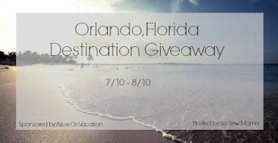 Orlando Florida Destination Giveaway