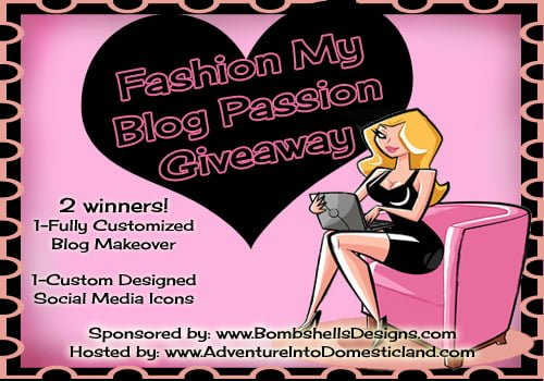 Bloggers Wanted – Fashion My Blog Passion Giveaway