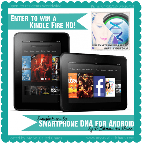 WIN A Kindle Fire HD Giveaway