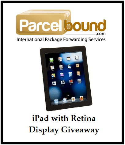 Win #iPad with Retina Display Giveaway