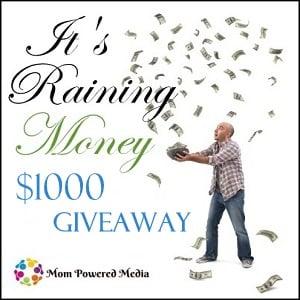 Win $1000 in It's Raining Money Giveaway