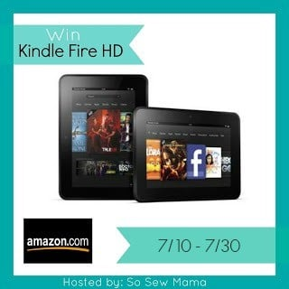 Win The Kindle Fire HD