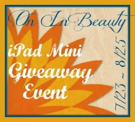 "Search and Buy ""On In Beauty"" iPad Mini Giveaway"