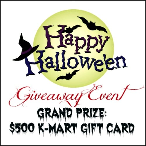 happy halloween giveaway event