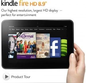 Kindle Fire HD 8.9″ Giveaway