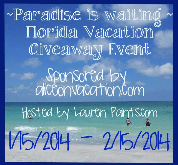 Florida - A Paradise For Vacation Giveaway Event