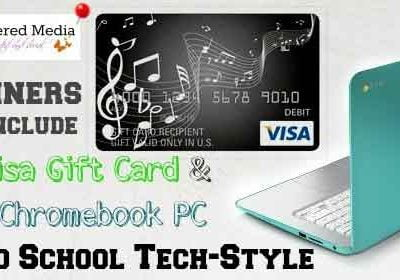 Bloggers Sign Up – Back To School Tech Style Giveaway Event