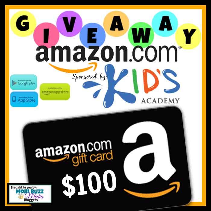 Kids Academy Amazon Gift Card Giveaway