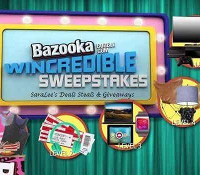 Bazooka Bubble Gum Giveaway