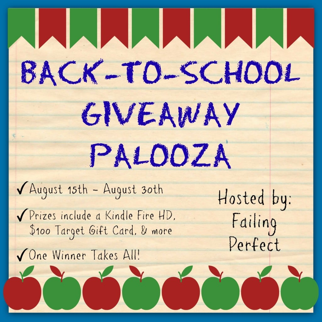 Sign Up For Back To School Giveaway Palooza Event