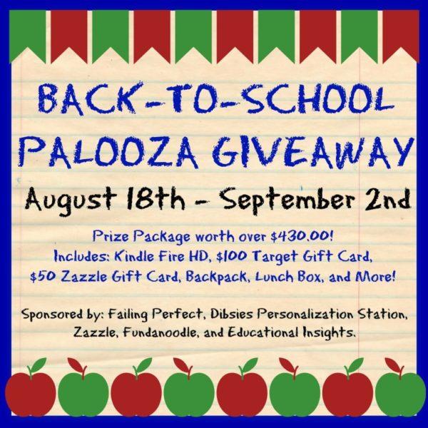 Back To School 2014 Palooza Giveaway