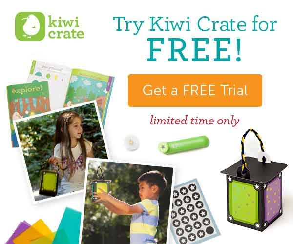Kiwi Crate Free Trial Offer