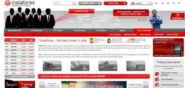 Forex Trading with InstaForex