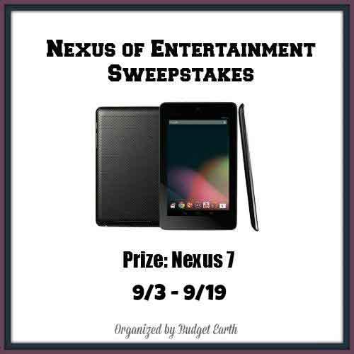 Nexus of Entertainment Sweepstakes
