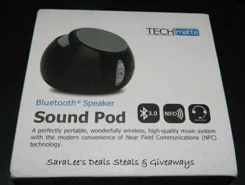sound pod speaker photo
