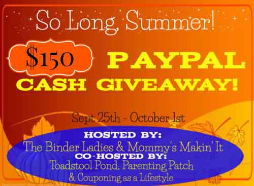 so long summer 2014 cash giveaway image