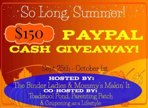 so long summer 2014 cash giveaway image