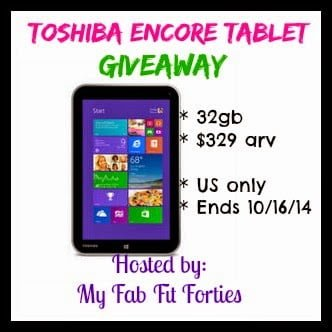 toshiba encore giveaway photo