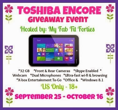 Blogger Opp – Toshiba Encore Giveaway Event