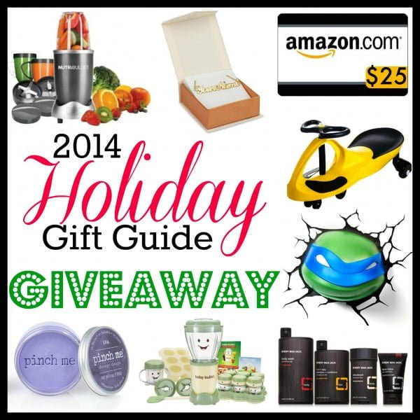 Holiday Gift Guide 2014 Giveaway