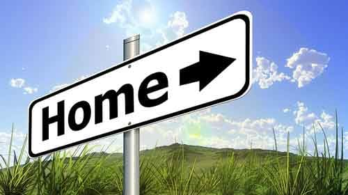 home sign image
