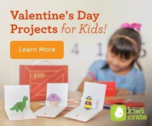 Kiwi Crate Valentine's Day Project