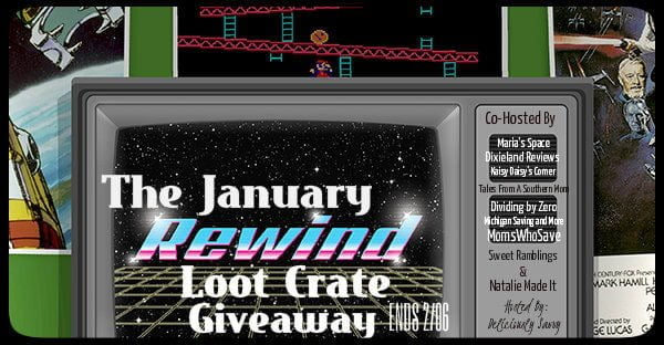 Loot Crate January Rewind Giveaway