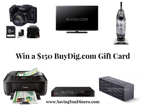 BuyDig Gift Card Giveaway