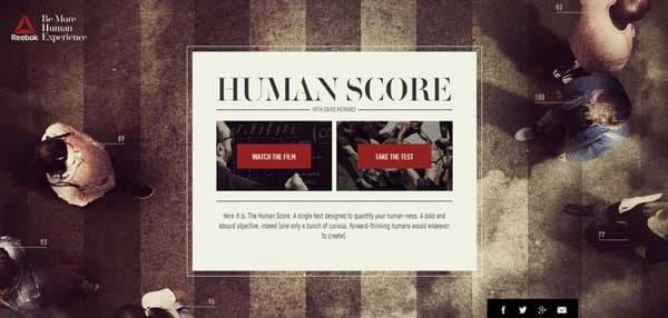 human score image