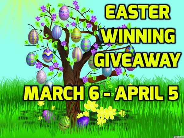 Easter 2015 – Win At Easter Winning Giveaway