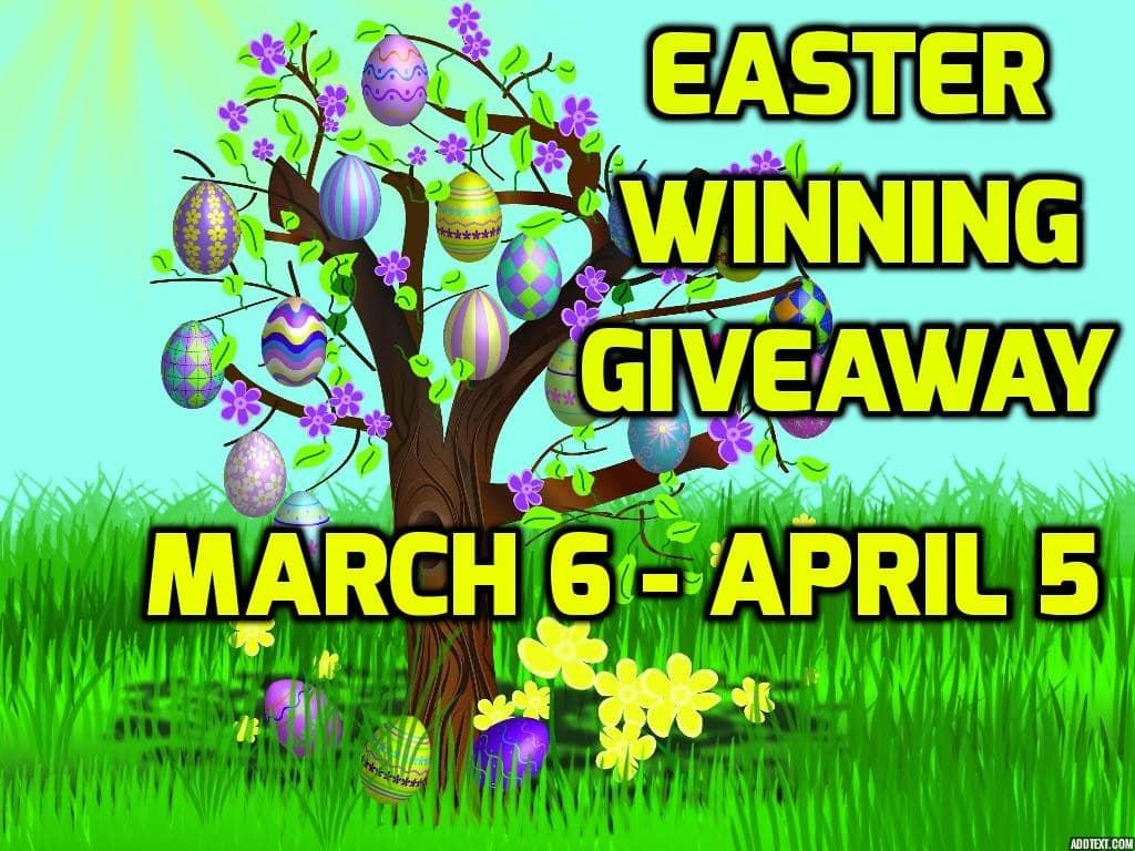 Blogger Opp – Sign Up For Easter Winning Giveaway