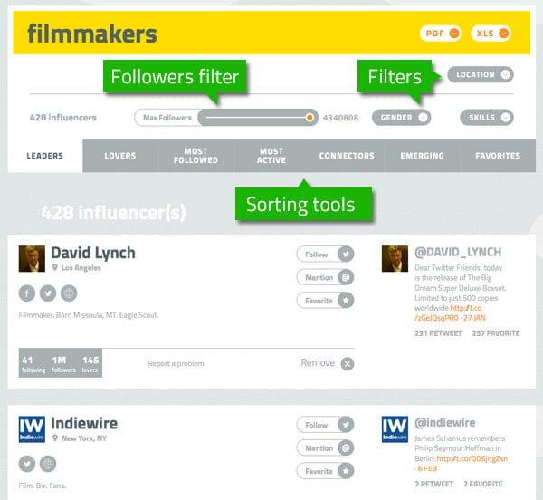 finder filters image