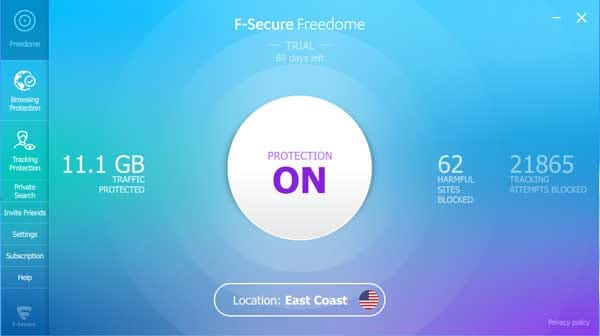 freedome vpn service image