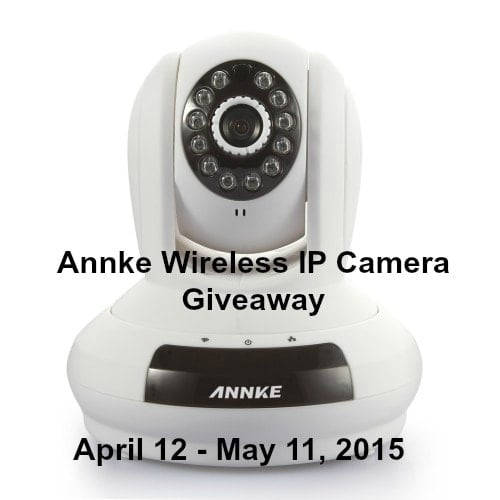 Annke Wireless IP Camera Giveaway