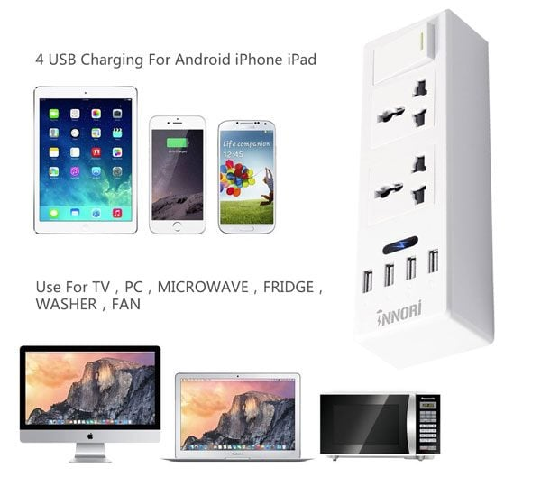 Surge Protection With INNORI USB Power Strip Giveaway