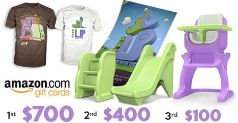 #UpWeeGo Baby High Chairs And Amazon Gift Card Giveaway