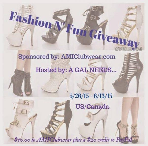 AmiClubwear Fashion N' Fun Giveaway