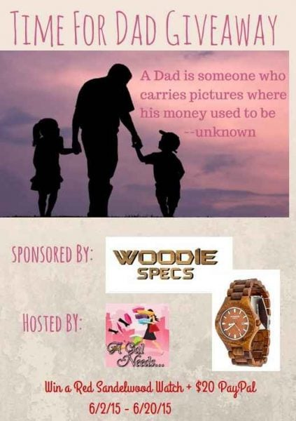 Wood Watch – Time For Dad Giveaway