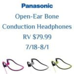 open-ear bone conduction headphones