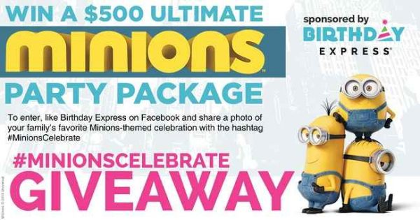 Minions Party Themes 2015 And $500 Giveaway