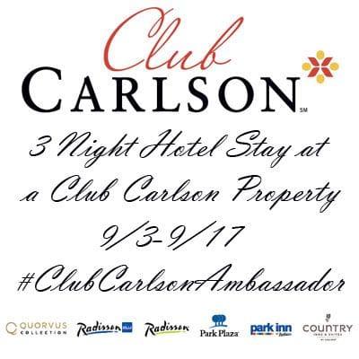 club carlson rewards