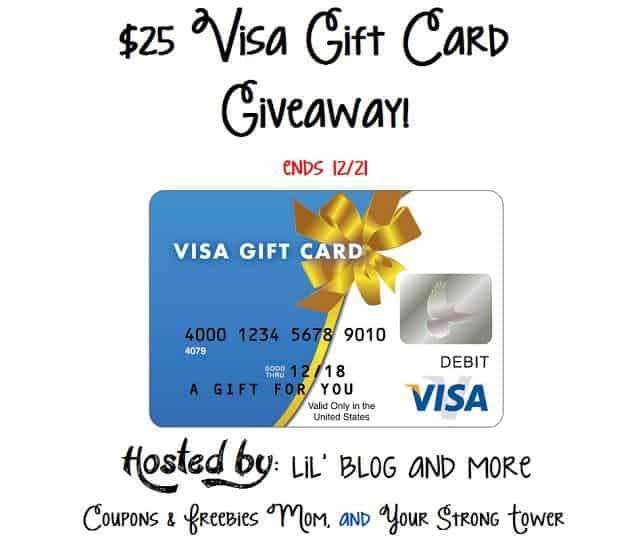$25 Visa Gift Card