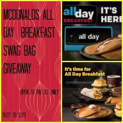 McDonald's All Day Breakfast Giveaway Event