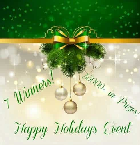 Happy Holidays 2015 Giveaway