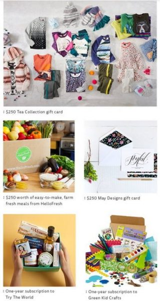 Sweepstakes 2015 – Win Tea Collection Gift Cards