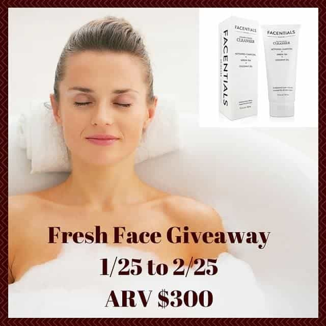 Fresh Face Cleanser Giveaway
