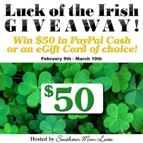 Luck Of The Irish Giveaway Event