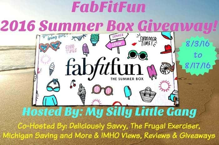 FabFitFun Box Giveaway