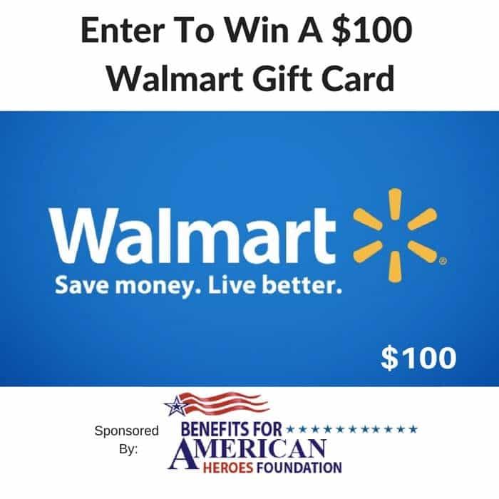 $100 walmart gift card